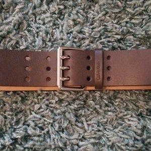 Calvin Klein Dark Brown Belt